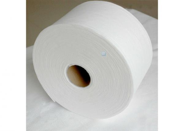 Quality Degradable Bamboo Non Woven Cleaning Cloths Household Spunlace Wipes Roll for sale