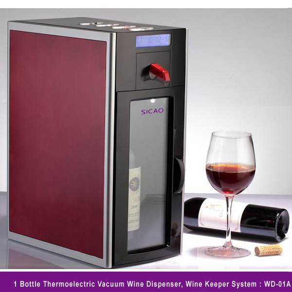 Single bottle wine chiller images for How to preserve wine after opening bottle