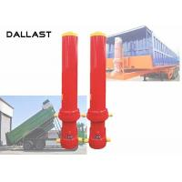 China Telescoping Dump Truck Hydraulic Ram Cylinder with ISO / Ts16949 on sale