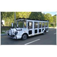 China 8 Seats Electric Sightseeing Car , Electric Tour Bus 30km / H Max Speed wholesale