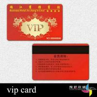 China Professional Bank RFID Blank Smart Card With Chip , Magnetic Stripe wholesale