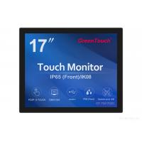 China 5 / 4 17 Inch Open Frame Touch Screen Monitor For Pc With VGA / DVI / USB wholesale
