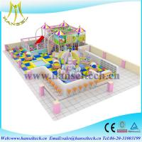 China Hansel children amusement indoor and outdoor playground slides for sale on sale