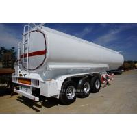 China fuel tank truck trailer, crude oil tanker trailer with 3 axle for sale wholesale