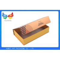 Book Shaped Cigarette Pack Case , Magnetic Gift Paper Boxes Full Color Printed