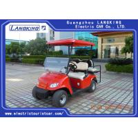 Buy cheap Powerful 4 Seater Electric Golf Carts Low Speed Electric Vehicles With ADC Motor from wholesalers
