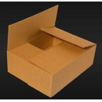 China Brown Heavy Duty Cardboard Boxes , Recycled Corrugated Kraft Box wholesale