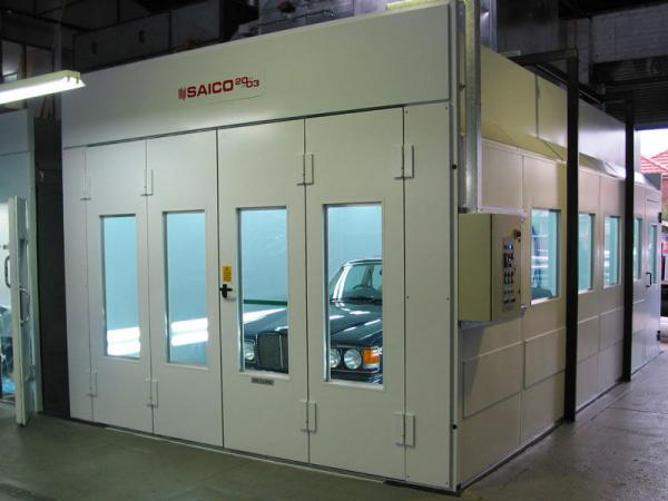 High Pressure Spray Booth : Ly dust free furniture spray booth with full pressure