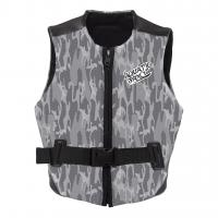 China Reversible Design Neoprene Impact Vest With Front Zip Strategic Armhole Size on sale