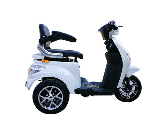 Quality 1000W Electric Tricycle For Handicapped , 3 Wheel Mobility Scooter for sale