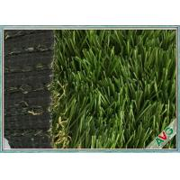 China PE Material Plastic Carpet For Decor , Portable Landscaping Artificial Turf wholesale