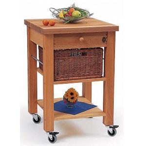 China bamboo kitchen trolley wholesale