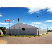 China Removeable Re Locatable Industrial Storage Tents Heavy Duty 15m X 30m , 20m X 30m wholesale