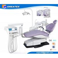 China Top Mounted Dental Chair Unit With Floor Cabinet LCD Display On Instrument tray wholesale