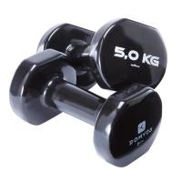 China Colorful PVC Coating Gym Dumbbells Hand Weights For Total Body Workout wholesale