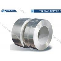 China Surface Tinned Conductive Tin Plated Copper Foil Sheet With High Mechanical Performance on sale