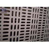 China Slotted Hole Perforated Aluminum Sheet Metal Anodized Decorative 1.22x2.44m Panel Size wholesale