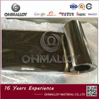China Silvery Color Titanium Foil TA1 Size 0.06mm X 200mm Bright Surface 4.51 Density on sale