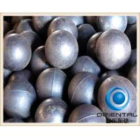 High Chrome cast grinding steel balls , Surface hardness HRC 60 to 65