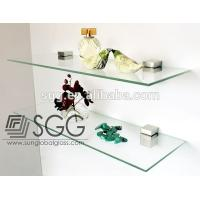 China 8mm clear glass used for shelf brackets wholesale