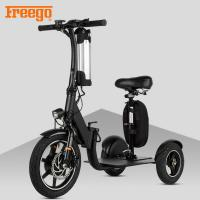 China Black Motorised Mobility Scooter , Old Person Mobility Scooter 100KG Max Load wholesale