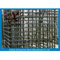 China 6Mm Welded Reinforcing Wire Mesh Square / Rectangle Hole Shape XLS-02 on sale