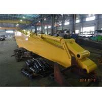Quality Heavy Duty Excavator Long Boom / Excavator Extension Arm 8900mm Length 7600KG for sale