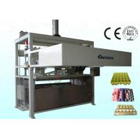 China 1800Pcs / H Moulded Pulp Egg Carton Machine Full Automatically wholesale