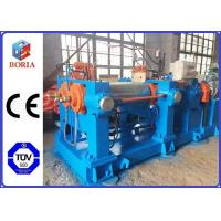 SGS Certificated Rubber Mixing Mill Machine 1000mm Roller Working Length