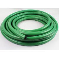 China 1 Inch , 3/4 Inch Flexible Fuel Hose / Green Rubber Fuel Delivery Hose wholesale