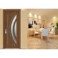 China Interior Frosted Glass MDF Wood Doors Bedroom Maximum Height 2350mm Office Building on sale