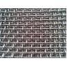 China Sand Gravel Crusher Hooked Vibrating Sieve Screen Wire Mesh Square Hole Shape wholesale