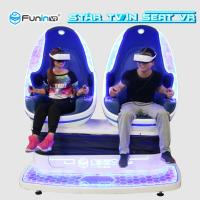 China Full Automatic Mode Virtual Reality Simulator Cinema Blue With White Color wholesale