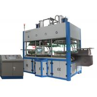 China Thermoforming Paper Pulp Molding Machine For Top Grade Fine Molded Pulp Products wholesale