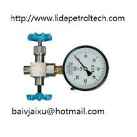 China 3-way needle valve for manometer,gauge valve,instrument valve on sale