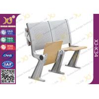 China Eco - Friendly Aluminum Alloy School Desk And Chair With Wood Table Aluminum Hinge on sale