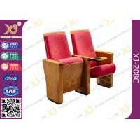 Fixing Leg Installation Damper Return Conference Hall Chairs High Density            