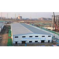 China Steel Frame Builders Warehouse / Structural Steel Fabricators For Metal Buildings wholesale