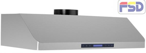 Quality Slim Body Stainless Steel Under Cabinet Range Hood For Cooking , Kitchen Hood Fan for sale