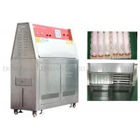 Simulated Climate UV Aging Test Chamber Electric Driven Humidity Range 10% - 95%
