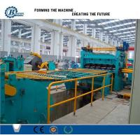 China High Efficiency Metal Slitting Line , Automatic Slitting Machine With Anti - Rust Roller wholesale