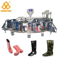 China 12 Stations 1/2 color Boot Injection Molding Machine, Gumboots Making Machine wholesale