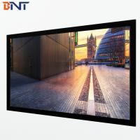 China 16:9 format fixed frame projector screen used home theater BETFS9-100 wholesale