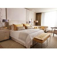 European Style 5 Star Hotel Bedroom Furniture Sets Eco -  Friendly Customized