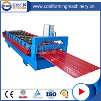 China New Style Blue Steel Botou Zinc Roofing Roll Forming Machine on Sale wholesale