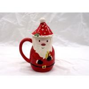 China 400ml Capacity 3D Ceramic Mug Cartoon Santa Claus Animal Snowman Design  With Cap Lid wholesale