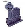 China Bahama blue granite tombstone wholesale