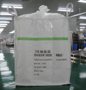 Buy cheap Le matériel en vrac du panneau pp d'U met en sac avec 4 boucles, un type sacs de tonne d'éléphant d'A from wholesalers
