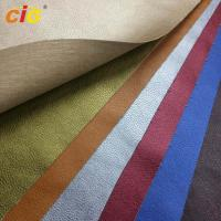 China Waterproof Knitted Synthetic Leather Material For Bag Leather / Shoes on sale