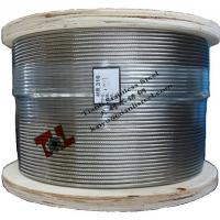 China A4 1.4401 316 1x19 8mm Stainless Steel Wire Rope wholesale